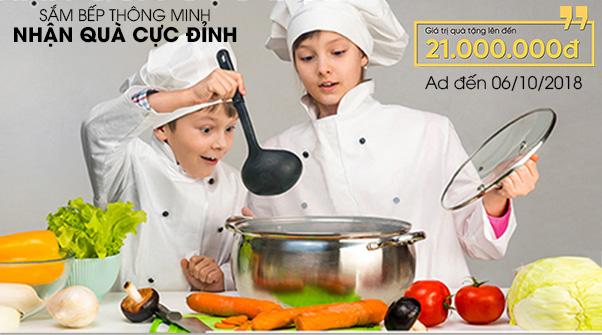 Malloca-Shop triển khai Khuyến mại sắm bếp thông minh, nhận quà cực đỉnh tại các Store trên toàn quốc